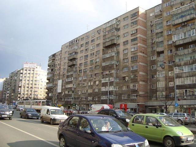 Apartment blocks bucharest romania flickr photo for Bucharest apartments
