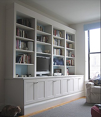 Built-in Wall Unit | Design and construction by Jeremy ...