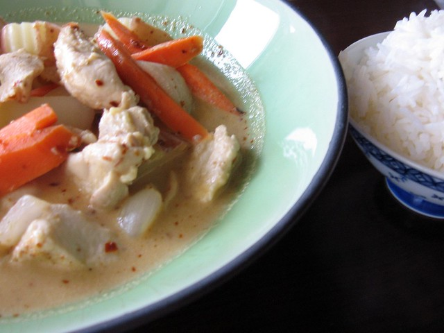 Yellow Curry And Rice Flickr Photo Sharing