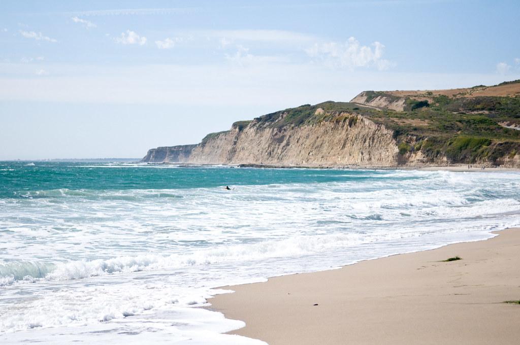 California vacation scott creek beach josh hallett for Vacation beaches in california