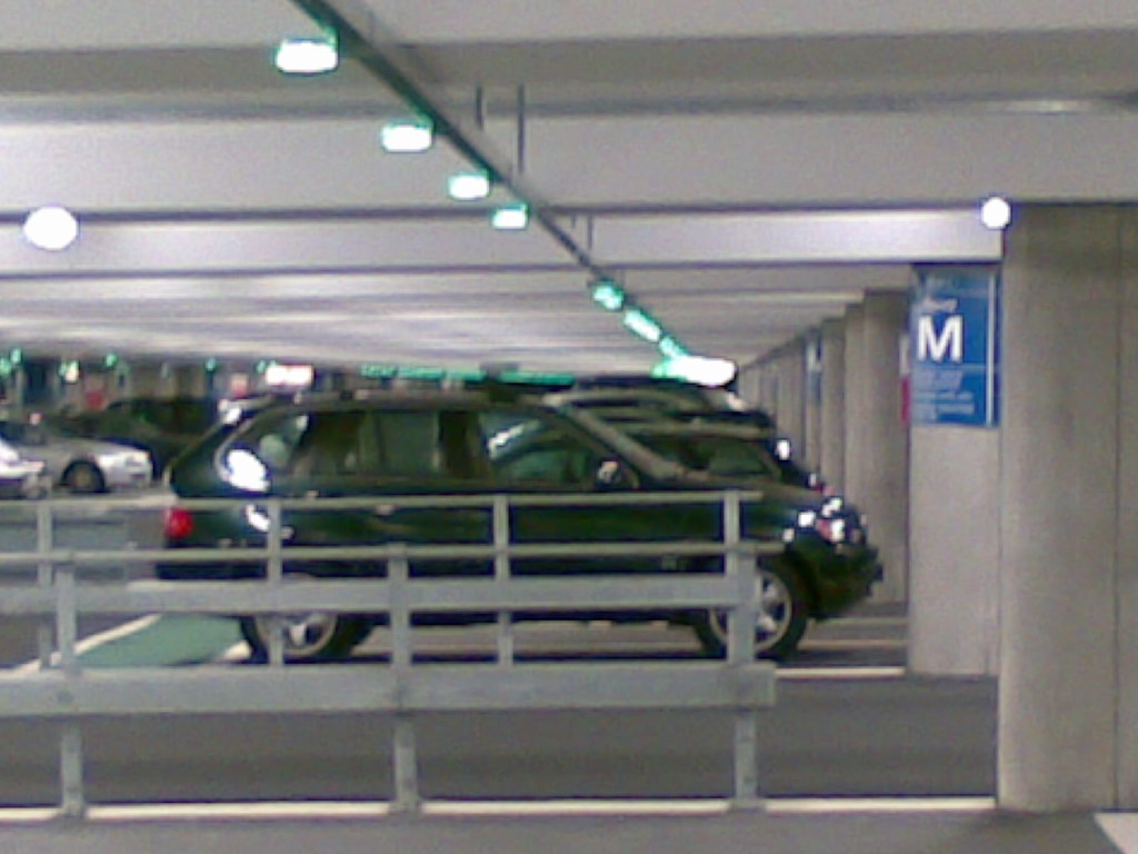 Green Car Park Stnsted Ticket Machines
