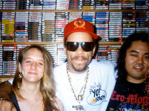 1989: Ice-T In-Store Appearance at Hungry Ear Kailua | by thefetuslives