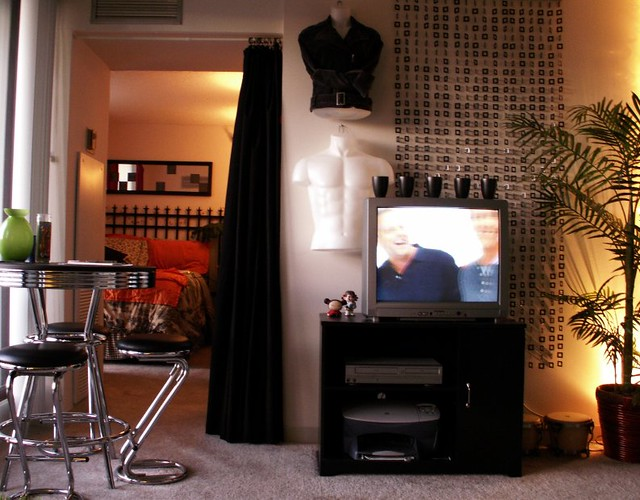 Chicago High Rise Studio Apartment Living Area This Was Flickr