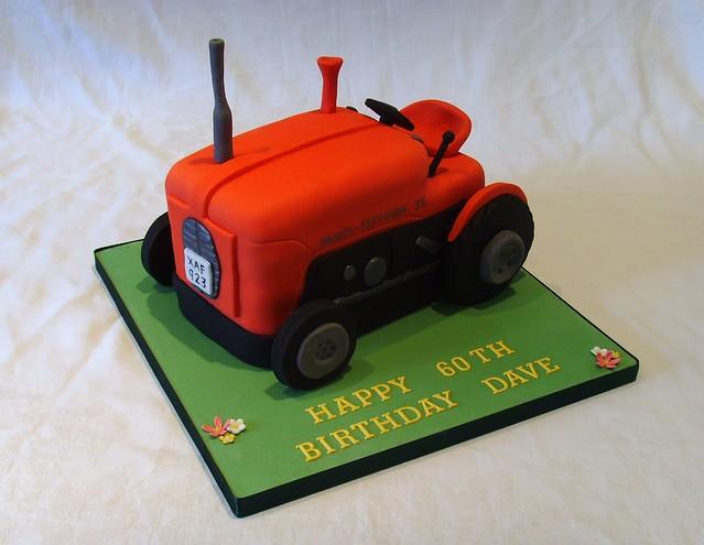Ferguson Massey 35 Tractor Birthday Cake Flickr Photo