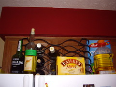 On Top of the Fridge - Before