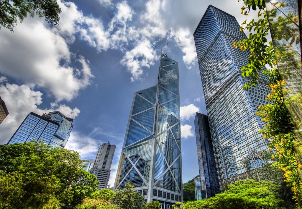the glass jungle in hong kong hong kong has some really