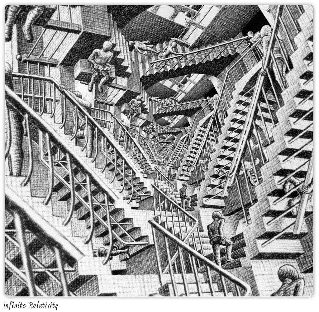 Eschers Infinite Relativity
