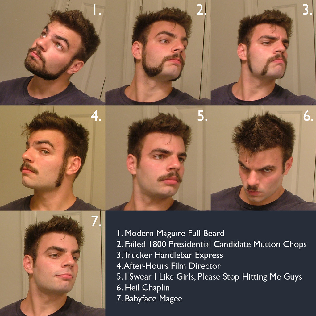 pictures of facial hair styles s hair style chart chris maguire flickr 8731 | 2779821087 3763f149b6 b