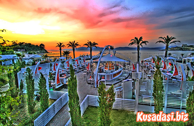 Jade Beach Club Kusadasi In Hdr By Kusadasi Guy