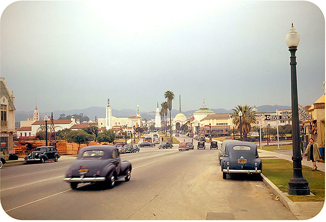 Westwood Village in Los Angeles, California in 1941   by vieilles_annonces