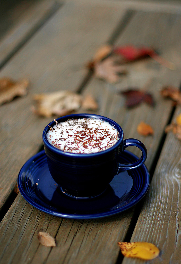 autumn coffee | One of the last coffees on our porch this ...