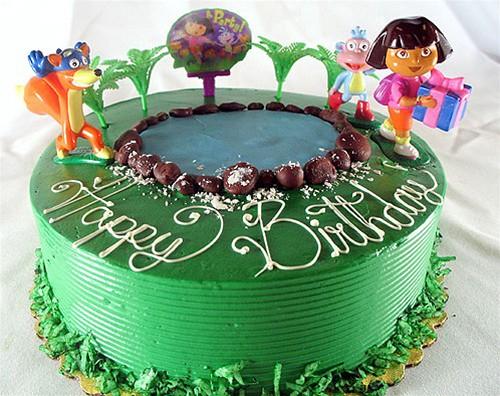 Dora Cake Recipe In English: Invite Dora And Her Band Of