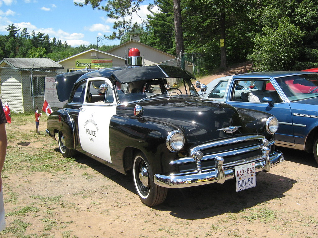 1950 Chevrolet Coupe Ontario Provincial Police This Car
