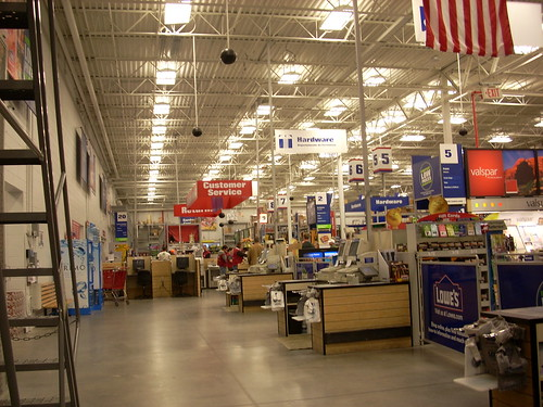 interior | The interior of a Lowe's home improvement … | Flickr
