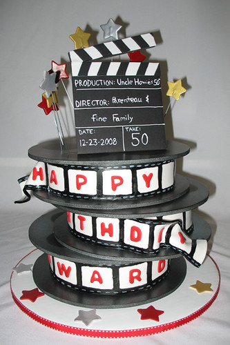 Movies/Film Theme Cakes and Cupcakes for the Movie Buffs ...