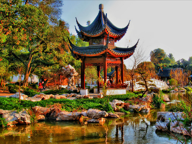 Huntington Library Park The Chinese Garden Ls2 Zed Flickr