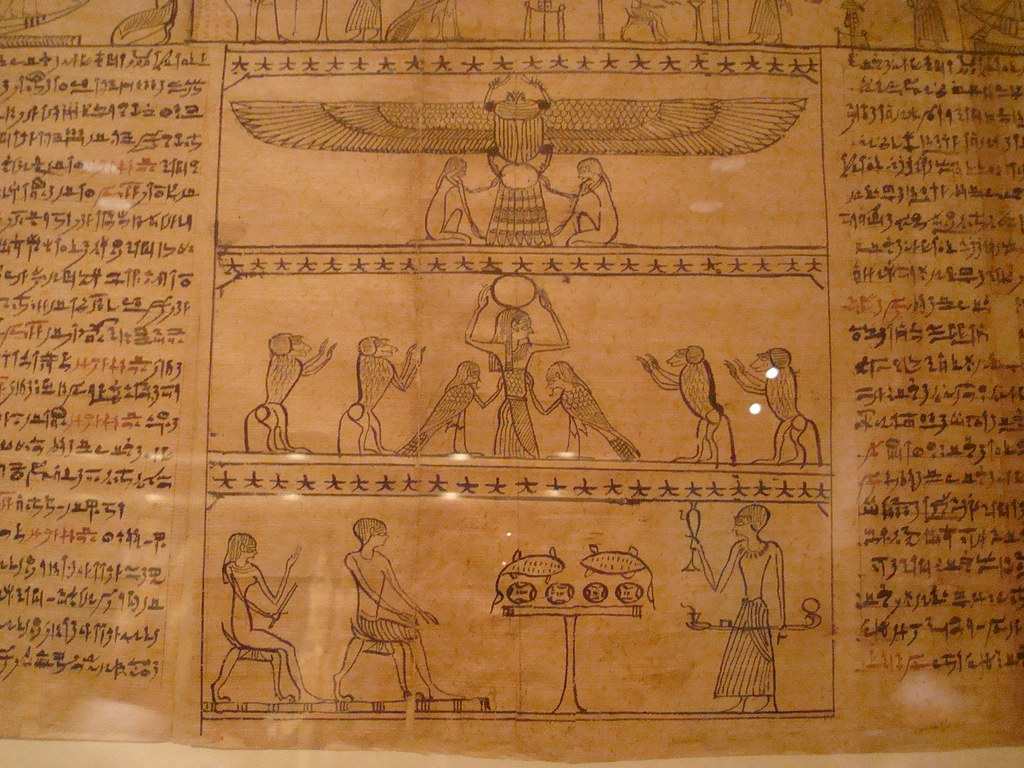 Egyptian Artifact Book Of The Dead Taken At The