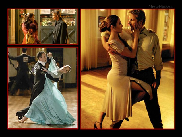 Shall We Dance Movie Wallpapers: Jennifer Lopez & Richard Gere In Shall We Dance? (2004