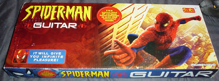 Spider-Man Guitar | it will give me infinite pleasure, and ...