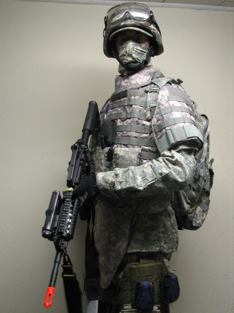 Airsoft Loadout... | I am not a real soldier. at least, not … | Flickr