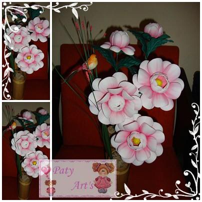 Arranjo flor camélia em eva | Flickr - Photo Sharing!