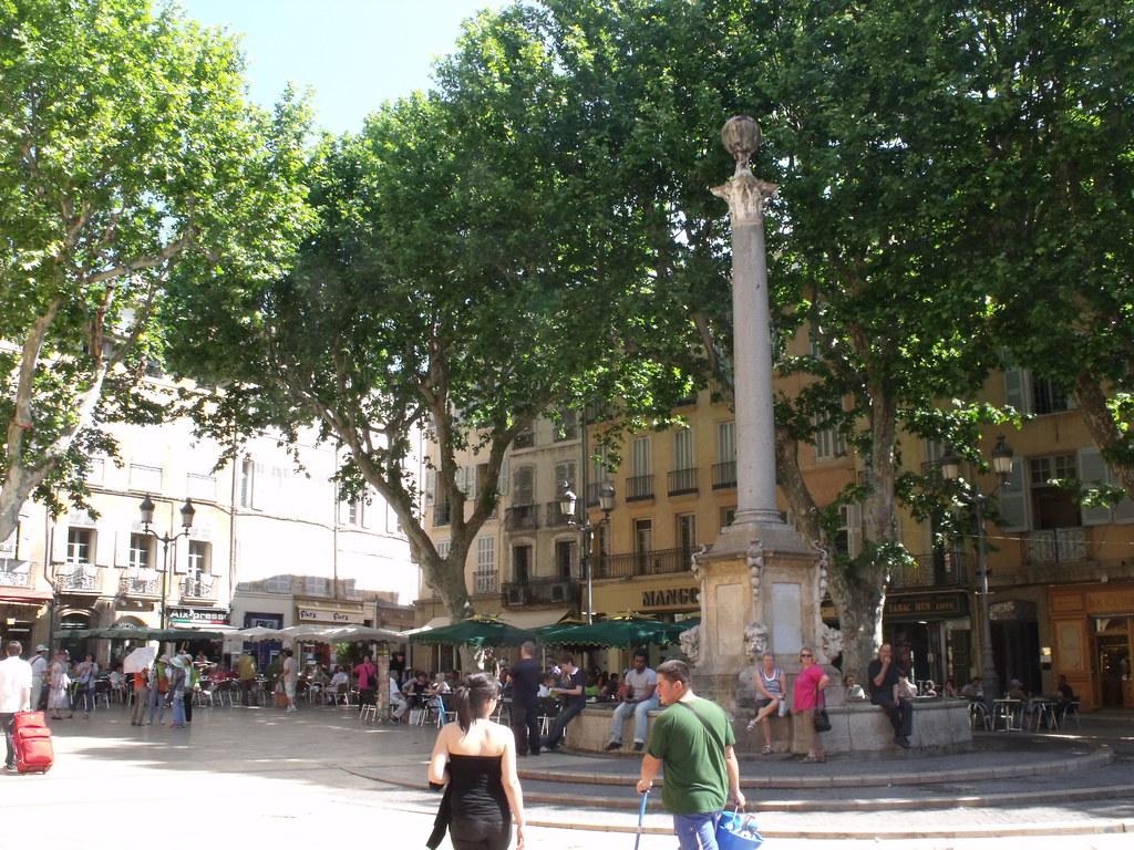 Place De L 39 Hotel De Ville Aix En Provence La Fontaine D