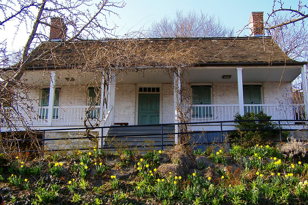 Spring at Dyckman Farm House Inwood NYC The Dyckman Farmh…