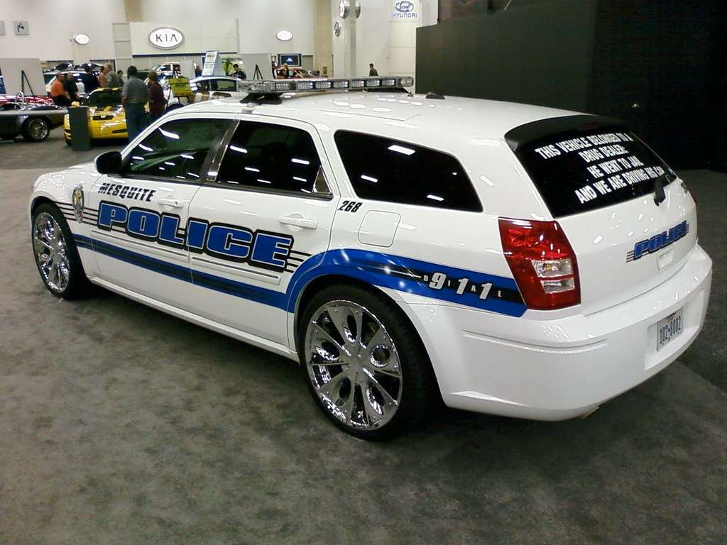 Mesquite Police Dodge The Rear Window Reads Quot This