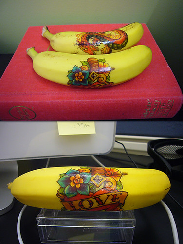 bananas tattoo case study one and two | by andrewc