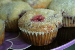 Raspberry White Chocolate Muffins | by Sarah :: Sarah's Cucina Bella