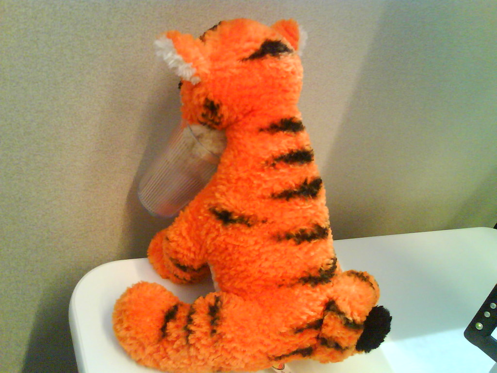sad tigger at corner | peichin | Flickr
