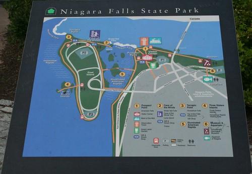 Niagara Falls State Park Map Flickr Photo Sharing
