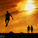 Acrobats&Sun.