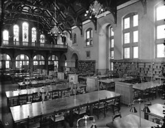 Interior Peter Redpath Library, McGill University, Montreal, QC, 1893 (?) | by Musée McCord Museum