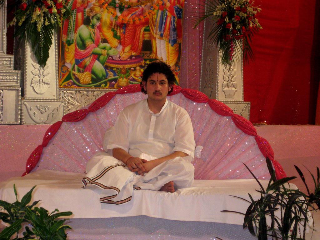 Bhagwat Katha Wallpaper Srimad Bhagwat Katha From