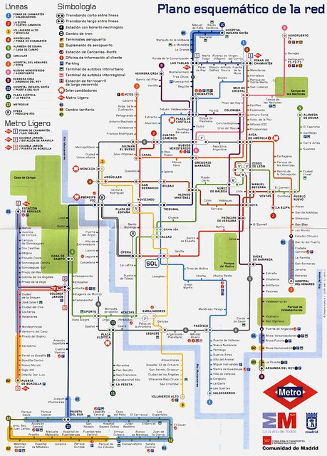 madrid metro and explanation answer The madrid metro (spanish: metro de madrid) is a metro system serving the city  of madrid,  this system was originally used on the barcelona metro and is  called the spanish solution the 12 stations with this setup are: madrid- metrolinea1.