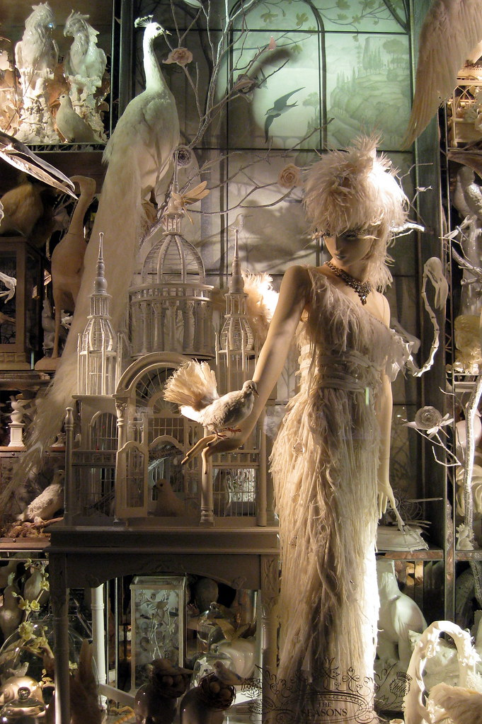 nyc  bergdorf goodman u0026 39 s 2008 holiday window display