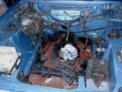 Ford Capri Engine Bay 5 Flickr Photo Sharing