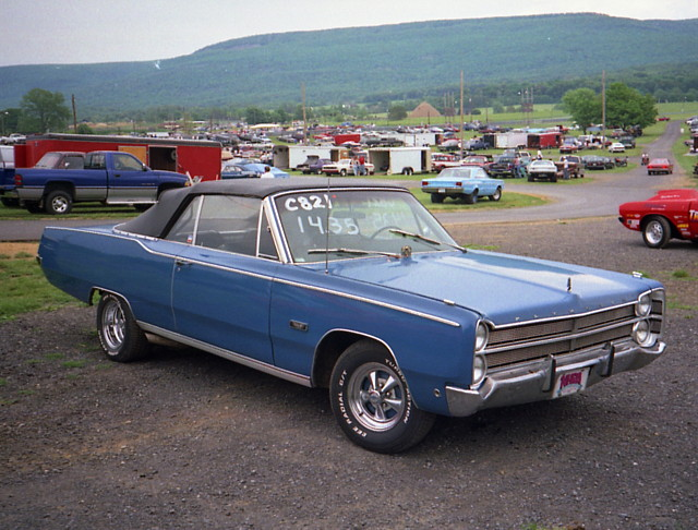 1967 Plymouth Fury Iii Convertible