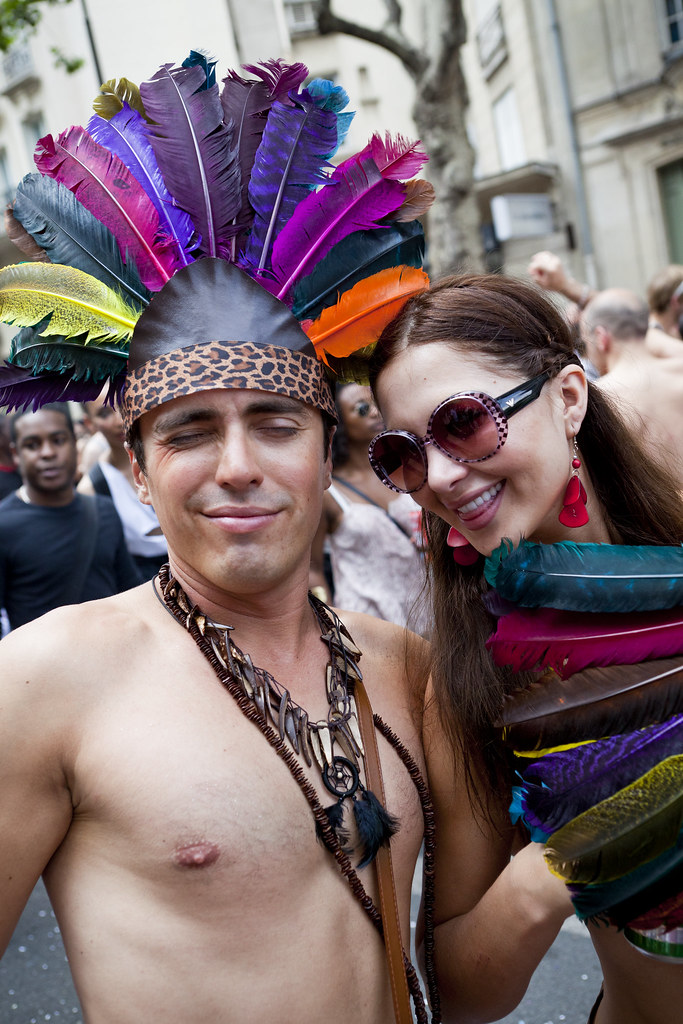 Lesbian  Gay Pride 066 - 26Jun10, Paris France  Flickr-7602