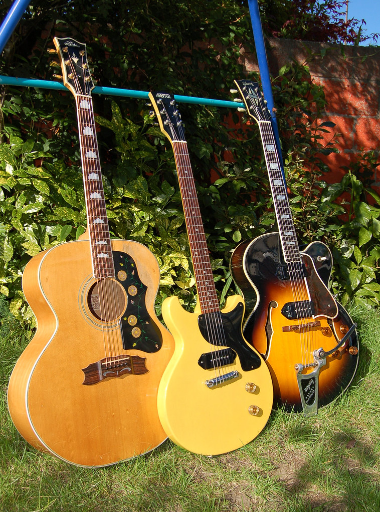 1970s japanese law suit gibson copy guitars aria j200