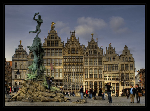 The Brabo Fountain, Antwerp. | by fatboyke (Luc)