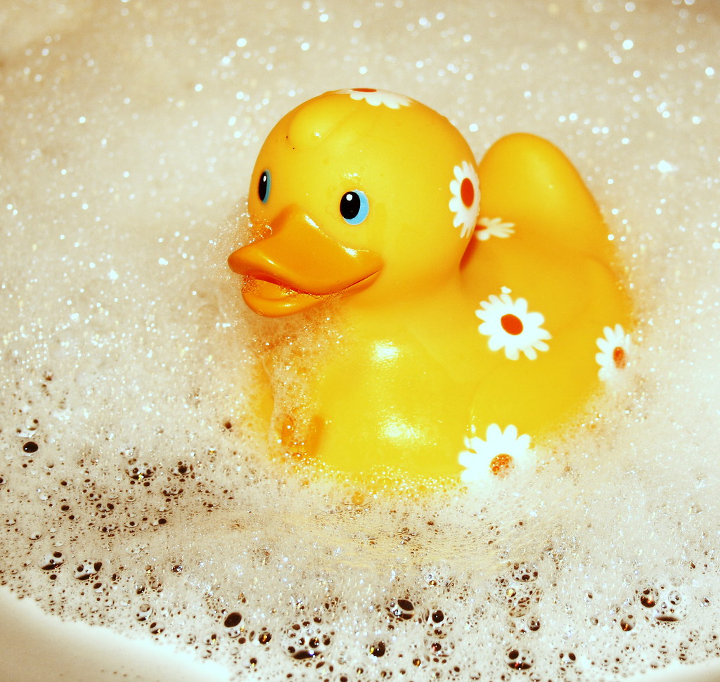Quack rubber ducky you re the one you make bath time lot flickr