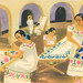 Maya Women Embroidering Yucatan