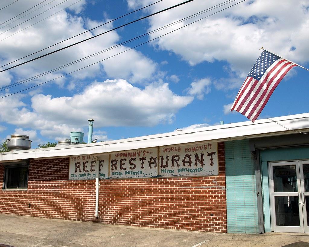 Johnny s reef restaurant city island bronx nyc belden