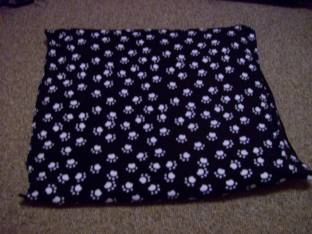 Black Canvas Bed Skirt