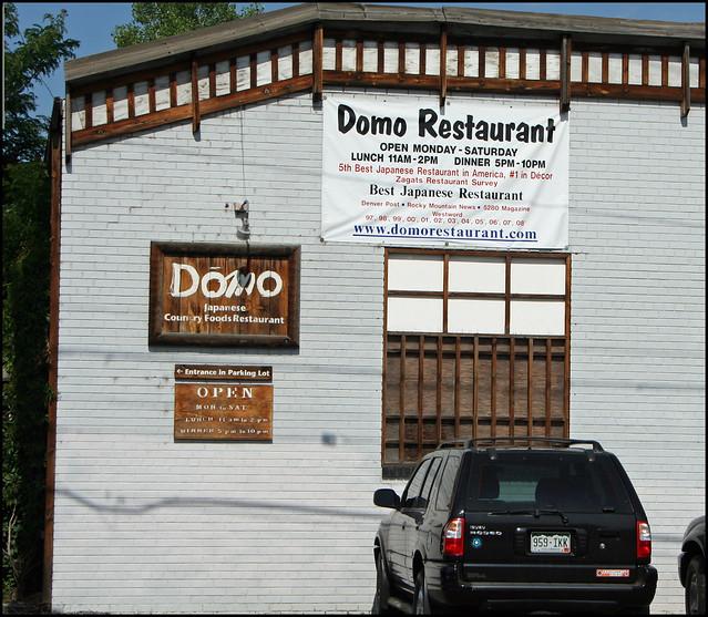 Domo Japanese Restaurant Denver Co