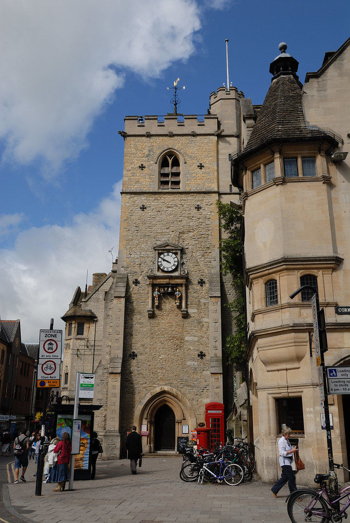 Oxford, UK, Oxfordshire, Carfax Tower