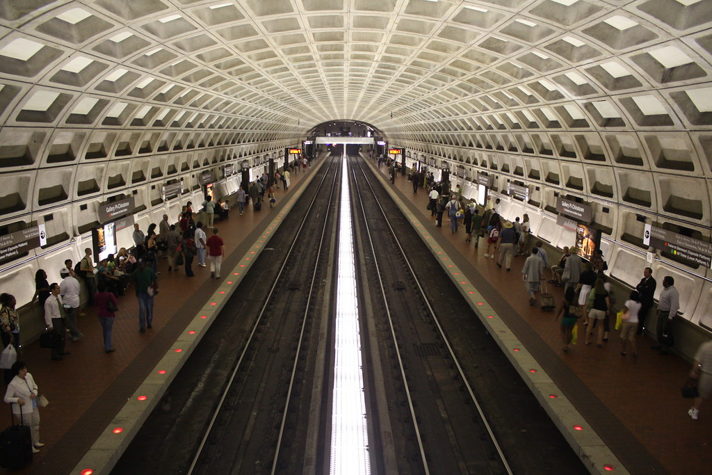 gallery place metro station