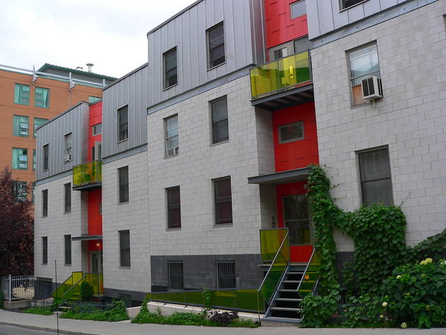 Modern Row Houses Flickr Photo Sharing